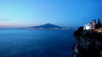 Vesuvius and Napoli from Vico Equense