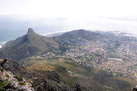 Lion's Head and Signal Hill overlooking Cape Town