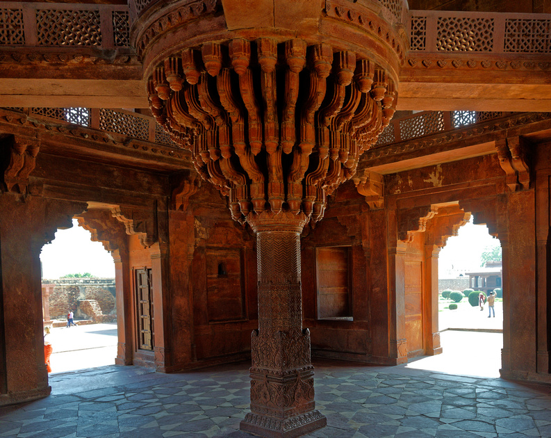 Diwan-i-Khas- Hall of the private audience