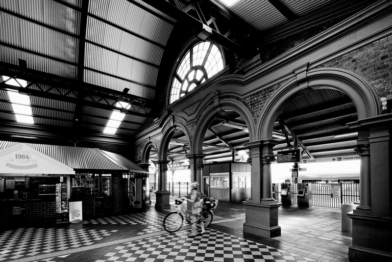 Fremantle Railway Station - 1907